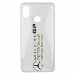 Чехол для Xiaomi Mi Max 3 Mercedes GP Vert
