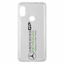 Чехол для Xiaomi Redmi Note 6 Pro Mercedes GP Vert
