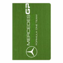 Блокнот А5 Mercedes GP Vert