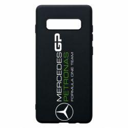 Чехол для Samsung S10+ Mercedes GP Vert