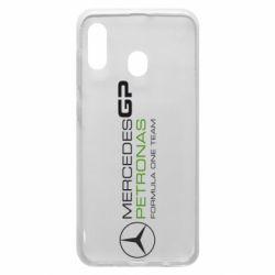 Чехол для Samsung A30 Mercedes GP Vert