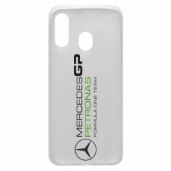 Чехол для Samsung A40 Mercedes GP Vert