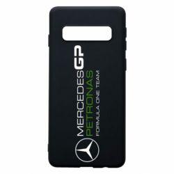 Чехол для Samsung S10 Mercedes GP Vert