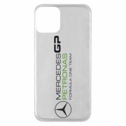 Чехол для iPhone 11 Mercedes GP Vert