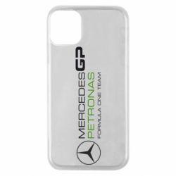 Чехол для iPhone 11 Pro Mercedes GP Vert