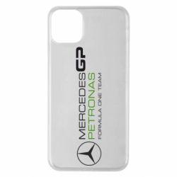 Чехол для iPhone 11 Pro Max Mercedes GP Vert