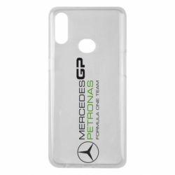 Чехол для Samsung A10s Mercedes GP Vert