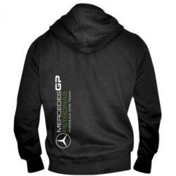 Мужская толстовка на молнии Mercedes GP Vert - FatLine