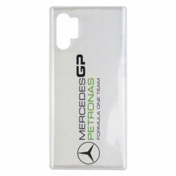 Чехол для Samsung Note 10 Plus Mercedes GP Vert