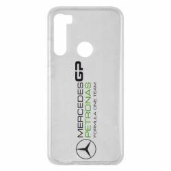 Чехол для Xiaomi Redmi Note 8 Mercedes GP Vert