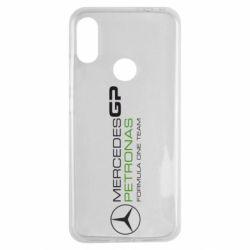 Чехол для Xiaomi Redmi Note 7 Mercedes GP Vert