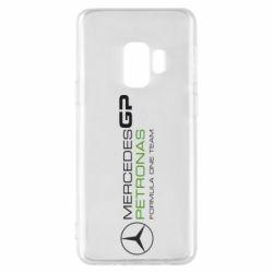 Чехол для Samsung S9 Mercedes GP Vert