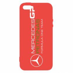 Чехол для iPhone5/5S/SE Mercedes GP Vert