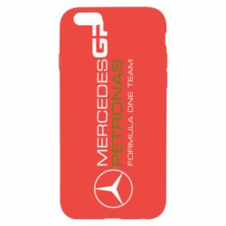 Чехол для iPhone 6/6S Mercedes GP Vert