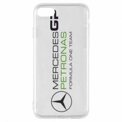 Чехол для iPhone 7 Mercedes GP Vert