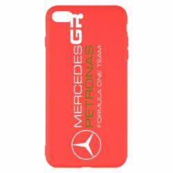 Чехол для iPhone 7 Plus Mercedes GP Vert