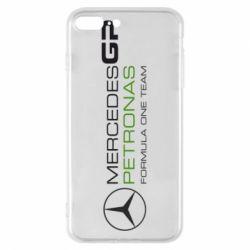 Чехол для iPhone 8 Plus Mercedes GP Vert