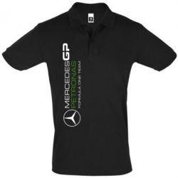 Футболка Поло Mercedes GP Vert - FatLine