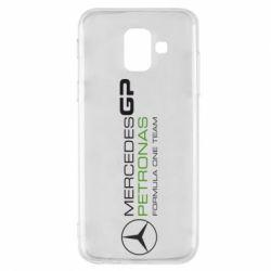 Чехол для Samsung A6 2018 Mercedes GP Vert