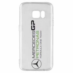 Чехол для Samsung S7 Mercedes GP Vert
