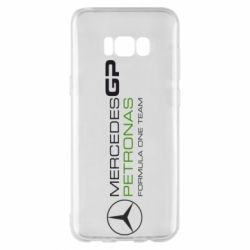 Чехол для Samsung S8+ Mercedes GP Vert