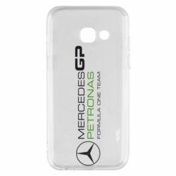 Чехол для Samsung A3 2017 Mercedes GP Vert