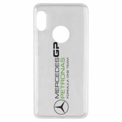 Чехол для Xiaomi Redmi Note 5 Mercedes GP Vert