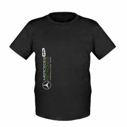 Детская футболка Mercedes GP Vert - FatLine