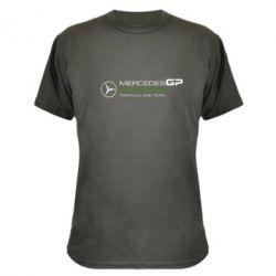 Камуфляжная футболка Mercedes GP - FatLine