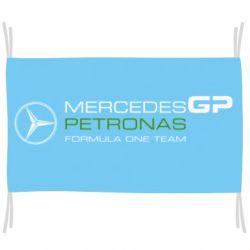 Флаг Mercedes GP