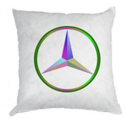 Подушка Mercedes Logo Art