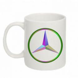 Кружка 320ml Mercedes Logo Art - FatLine