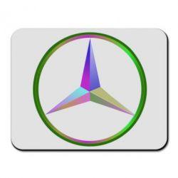 Коврик для мыши Mercedes Logo Art - FatLine