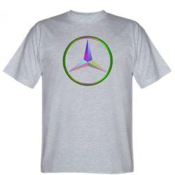 Мужская футболка Mercedes Logo Art - FatLine