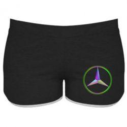 Купить Женские шорты Mercedes Logo Art, FatLine