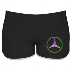 Женские шорты Mercedes Logo Art