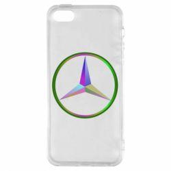Купить Чехол для iPhone5/5S/SE Mercedes Logo Art, FatLine