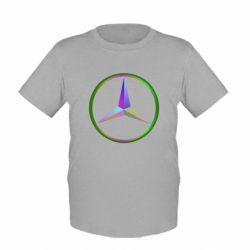 Детская футболка Mercedes Logo Art - FatLine