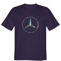Футболка Mercedes Лого Голограма