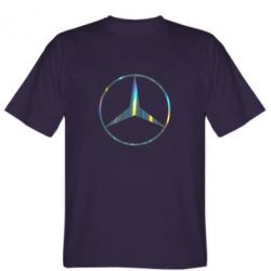 Футболка Mercedes Лого Голограмма