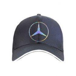 Кепка Mercedes Лого Голограмма