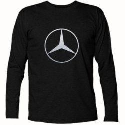 Футболка с длинным рукавом Mercedes Лого Голограмма