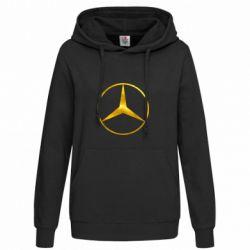 Женская толстовка Mercedes Лого Голограмма
