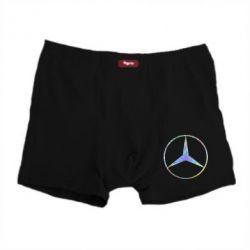 Мужские трусы Mercedes Лого Голограмма
