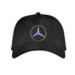 Детская кепка Mercedes Лого Голограмма