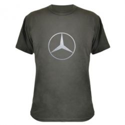Камуфляжная футболка Mercedes Лого Голограмма