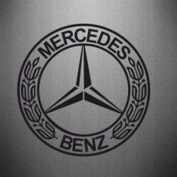 Наклейка Mercedes Logo - FatLine