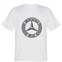 Мужская футболка Mercedes Logo - FatLine