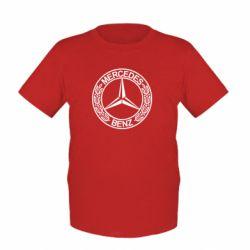 Детская футболка Mercedes Logo - FatLine
