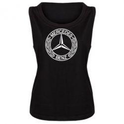 Женская майка Mercedes Logo - FatLine